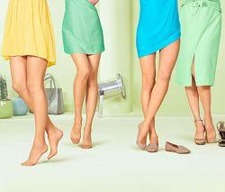 Женские капроновые телесные колготки 15 den Thibo Тсм.