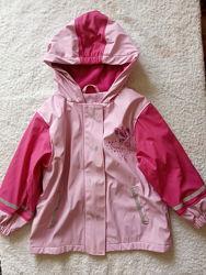 Курточка деми- из Германии - LUPILU 2-4 год 98-104-непромок. и LADYBIRD 7-8
