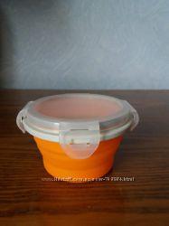 Детский пищевой контейнер складной