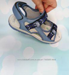 Босоножки качество сандалии на лето ортопедическая стелька кожа мальчик