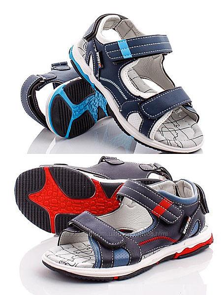 Босоножки ортопедическая стелька кожа сандалии Луч для мальчиков