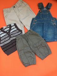 Набор одежды жилетка комбинезон штаны брюки