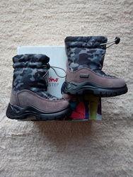 Детские зимние не промокаемые ботинки Naturino оригинал сделано в Италии