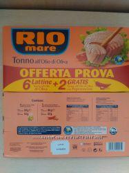 Тунец Rio Mare Новинка
