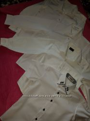 Продам рубашки на мальчика 6-9 лет рост 122-128, 134 см