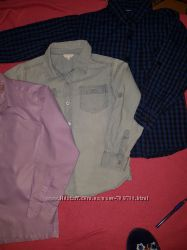 Продам рубашки на мальчика 6-9 лет на рост приблизительно 122 128, 134 см