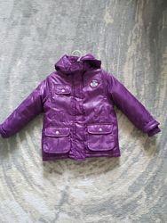 Продам теплую куртку Lupilu