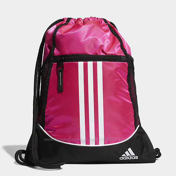 Сумка-мешок рюкзак adidas ALLIANCE 2 SACKPACK ВН1996 оригинал