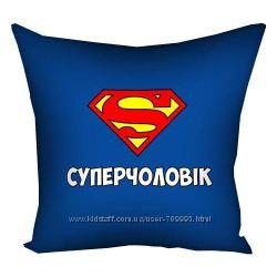 Яркие диванные подушки и наволочки