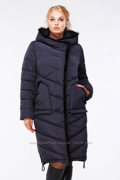a99082e4686 Зимнее женское пальто с норкой Антония Нью Вери Nui Very