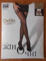 Колготки колготы Defile с уплотненными шортиками 40 ден den р. 3 черный