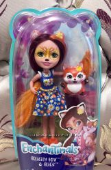 Кукла Enchantimals лисичка Фелисити обновлённая FXM72