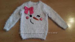 пушистый свитерок TU на 4-5лет