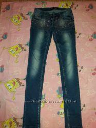 Классные джинсы для модницы.
