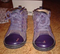 Кожаные ботинки Geox 20р стелька 13см демисезон