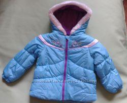 Куртка теплая зимняя London Fog для девочки 4-5лет