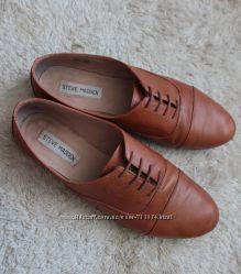 Кожаные туфли STEVE MADDEN