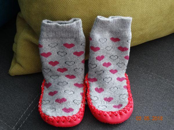 Махровые носки-чешки 16-17