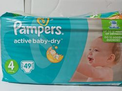Pampers active baby-dry  4,49шт