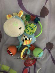 Игрушки погремушки прорезыватели Playgro, Tiny Love, Taf Toys