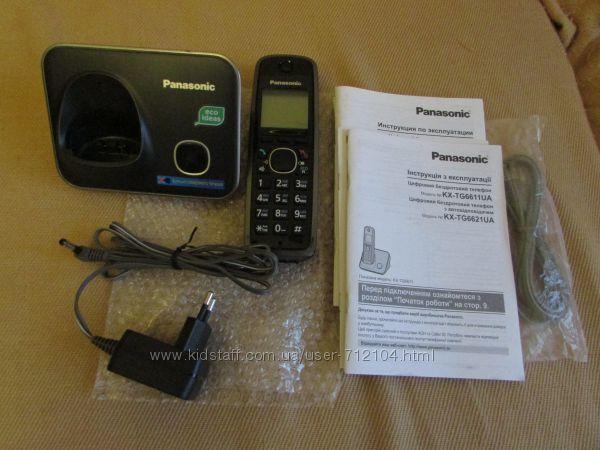 Радиотелефон panasonic kx tg6611
