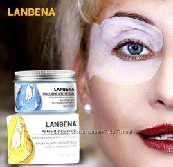 Lanbena Retinol ретинол гиалуроновая кислота патчи для глаз 50 шт.