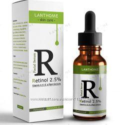 Lanthome Ретинол 2. 5 витамин А С Е гиалуроновая кислота травяная сыворотка