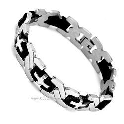 Мужские браслеты из стали новое поступление суперцена