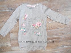 Платье-туника фирмы TERRANOVA на 4-5 лет рост 104-110см