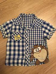 Рубашка на мальчика 12-18 мес.