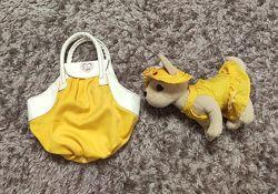 Chi chi love, собачка с сумкой переноской, simba оригинал