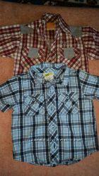 Рубашки на мальчика  12 - 18 мес.
