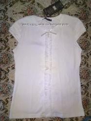 Снизила цену Нарядная футболка для девочки на 146-152