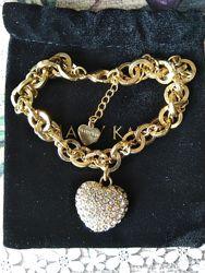 Не дорого. Позолоченный браслет с кристаллами mary kay