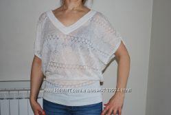 Новая воздушная блуза туника вискоза
