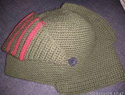 шапка-шлем рыцаря