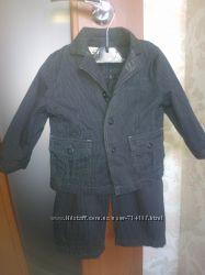Детский классический стильный костюм Cool Club брюки пиджак 86 см