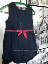 Шикарное платье на девочку 3-5 лет 100 хлопок