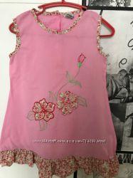 Шикарное платье OshKosh на девочку 4-5 лет