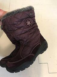 Зимние сапоги ботинки на девочку 18 см