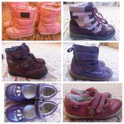 Сапоги, ботиночки зима 26р-17см