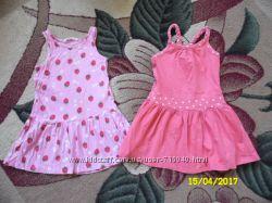 Платья 2-3 года