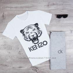 Костюмы  мужские  футболка  шорты