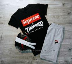 Футболки мужские Supreme Nike Levis Gucci Lacoste