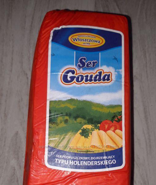 Сыр твёрдый Гауда Польский