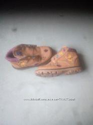 детские кожаные ботиночки Disney