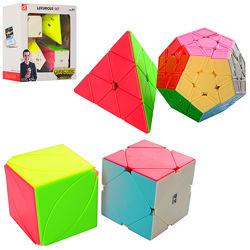 Головоломка кубики рубика набор 4 шт.