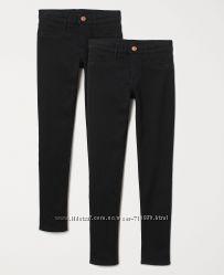 Стрейчевые джинсы H&M для девочки, Skinny Fit, 8-9, 10-11, 11-12 лет