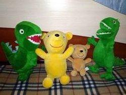 Мишка Тедди Пеппа Динозавр Джордж