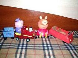Машина Паровозик Свинки Пеппы